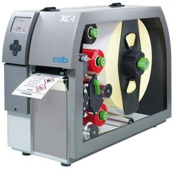 Two color label printer CAB XC4