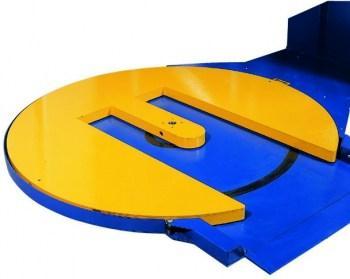 Horseshoe turntable for stretch wrappers FS360